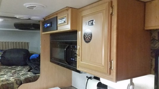 Super Appealing 60 Square Foot Mobile Cabin Camper: Just Differentials Ford F450 4x4 Motorhome On 42's Build