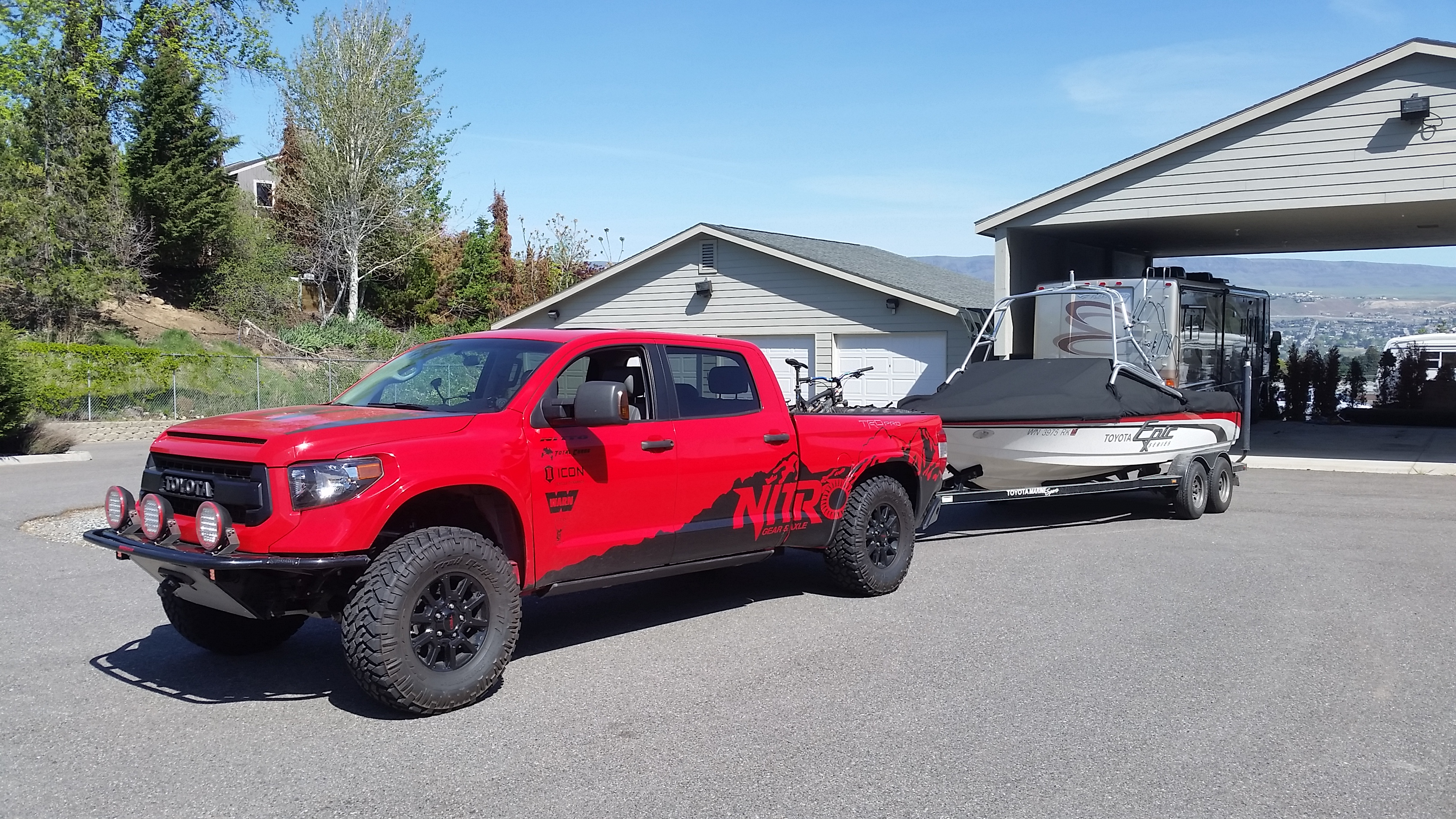 """Nitro Gear Supercharged, Long Travel Toyota Tundra """"More"""