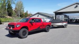 Nitro Gear Tundra & Toyota Epic SX22 Boat
