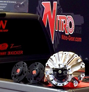 Nitro 6061 T6 Billet drop out